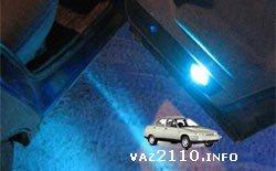 Подсветка в дверях ВАЗ 2110, 2111, 2112 и Приора